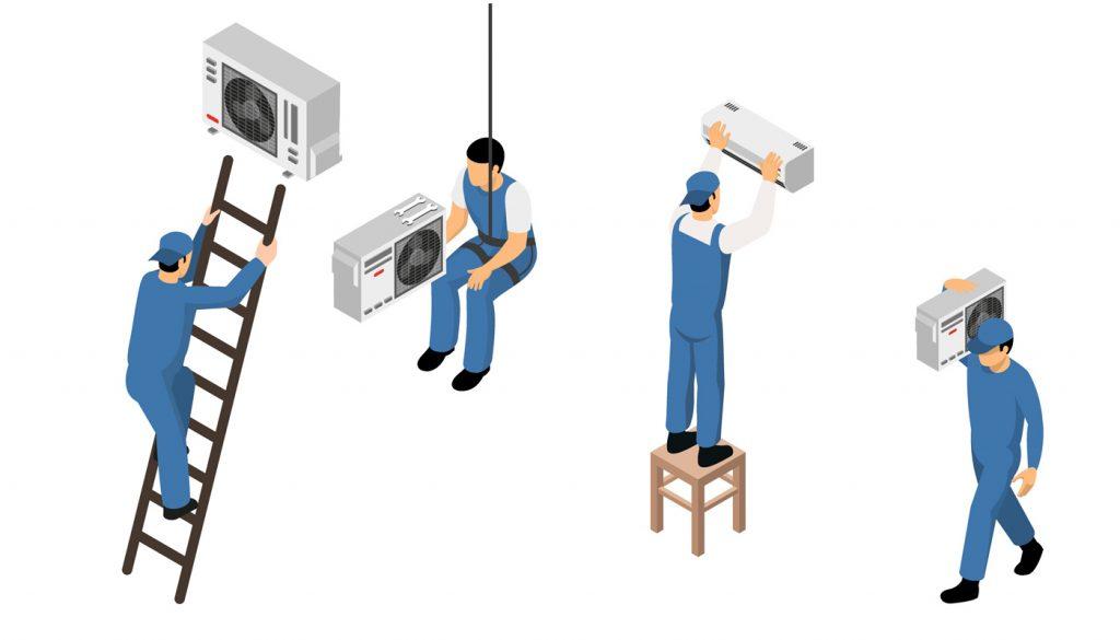 Klímaszerelési munkadíjak