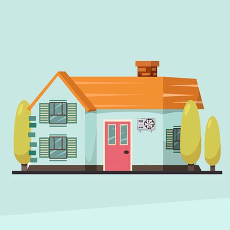 Családi házak klimatizálása, klímaszerelés